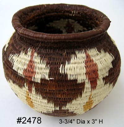 Baskets of the Wounaan & Embera Indians