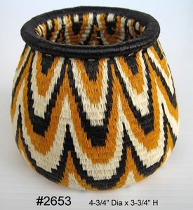 Basket of the Wounaan & Embera Indians